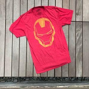 MARVEL AVENGERS ASSEMBLE Red & Yellow Tee Shirt